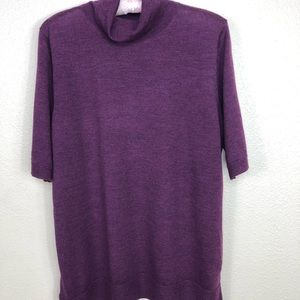Tahari NWOT Merino Wool Top XL